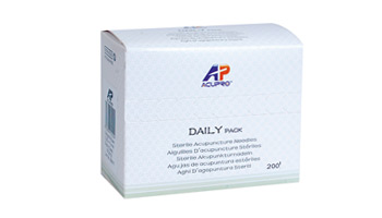 1600 Pcs Acupro Daily Pack 0.30x75 mm with tube